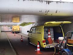 Het reingen van Onderdoorgangen en Tunnels te Purmerend