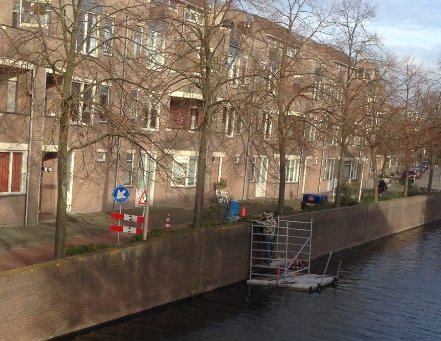 Renovatie kade en keermuren – gemeente Purmerend